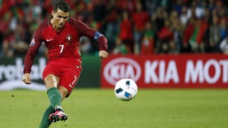 Cristiano Ronaldo tetap menjadi tumpuan Portugal kala melawan Austria. - INDOSPORT