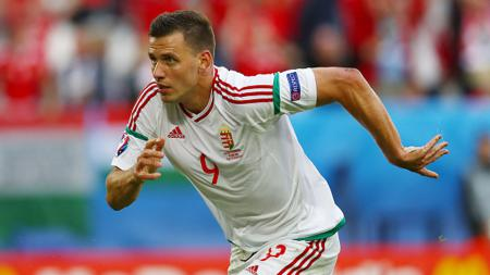 Striker Timnas Hungaria, Adam Szalai. - INDOSPORT