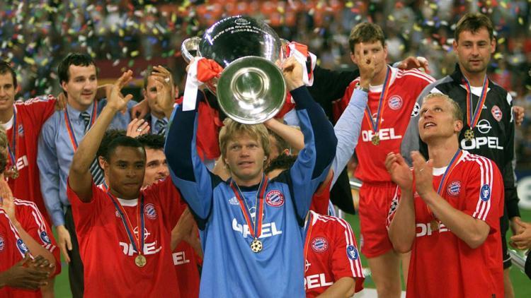 Oliver Kahn final liga Champions 2001. Copyright: INTERNET