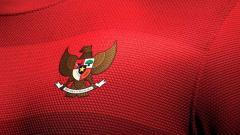 Indosport - Logo Garuda di jersey timnas Indonesia