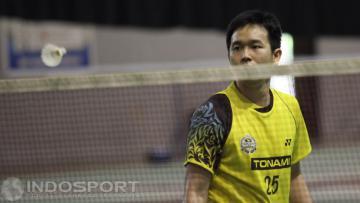 Pemain ganda putra Indonesia, Hendra Setiawan.