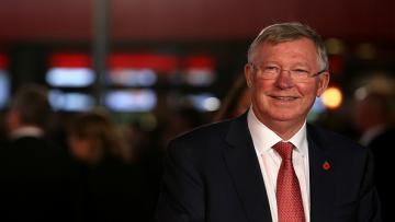 Alex Ferguson, mantan pelatih Man United.