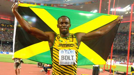 Usain Bolt andalan skuat Jamaika di nomor lari. - INDOSPORT