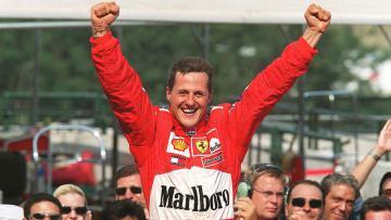 Michael Schumacher, Hungarian Grand Prix, 19 agustus 2001.