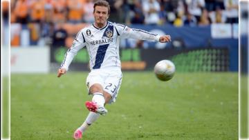 Gol tendangan bebas ala David Beckham ternyata tercipta di MLS.