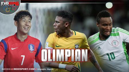 Son Heung-min (korea), Neymar (Brasil), John Obi Mikel (Nigeria) - INDOSPORT