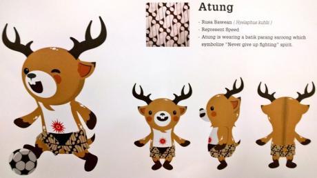 Atung (Rusa Bawean) Maskot Asian Games 2018 Jakarta Palembang 1 - Asian Games Tagline