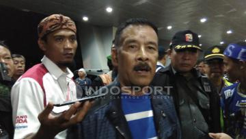 Bos Persib Bandung, Umuh Muchtar.