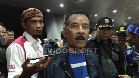 Bos Persib Bandung, Umuh Muchtar. - INDOSPORT