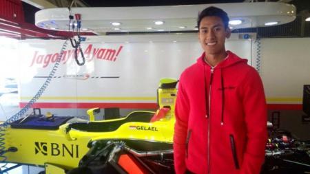 Sean Gelael ingin menutup musim 2016 dengan tambahan poin untuk Pertamina Campos Racing. - INDOSPORT