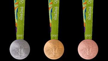 Medali Olimpiade Rio 2016.