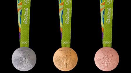 Medali Olimpiade Rio 2016. - INDOSPORT