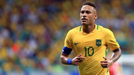 Neymar sukses mencetak rekor baru Olimpiade usai mencetak gol tercepat dalam waktu 15 detik. - INDOSPORT