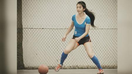 Fithri Syamsu, pemain futsal cantik asal Indonesia. - INDOSPORT