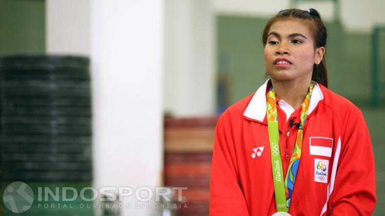 Sri Wahyuni (Angkat Besi) Copyright: Herry Ibrahim/Indosport
