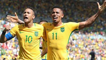 Brasil pastikan tiket partai final Olimpiade Rio 2016 usai taklukkan Honduras 6-0.