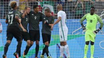 Jerman berhak menantang Brasil usai taklukkan Nigeria 2-0.