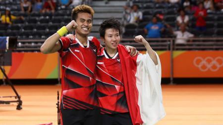 Wakil ganda campuran Indonesia di China Open 2016, Tontowi Ahmad/Liliyana Natsir. - INDOSPORT