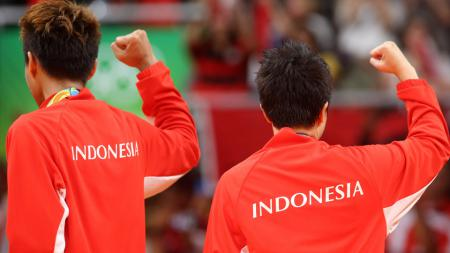Tontowi Ahmad/Liliyana Natsir direncanakan akan diarak keliling Jakarta. - INDOSPORT