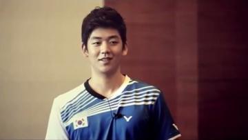 Pebulutangkis Korea Selatan, Lee Yong-dae.