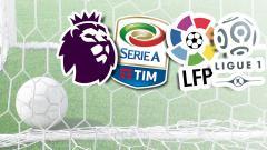Indosport - Hasil Lengkap Pertandingan Liga Top Eropa pada 21-22 Agustus 2016.