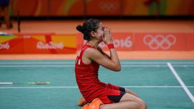 Carolina Marin mengomentari padatnya jadwal turnamen bulutangkis internasional yang dibuat oleh BWF.
