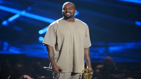 Kanye West, penyanyi asal Amerika. - INDOSPORT