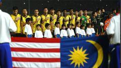 Indosport - Skuat Malaysia saat bertanding di SEA Games.