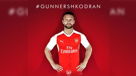 Shkodran Mustafi resmi bergabung ke Arsenal. - INDOSPORT