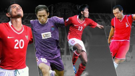 Empat penyerang top Indonesia yang meraih gelar pencetak gol terbanyak di Piala AFF - INDOSPORT