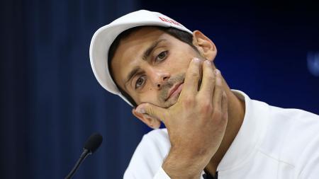 Novak Djokovic akan melawan Kyle Edmund di babak empat AS Terbuka. - INDOSPORT