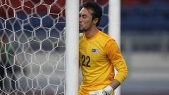 Indosport - Kiper Timnas Malaysia, Khairul Fahmi Che Mat.