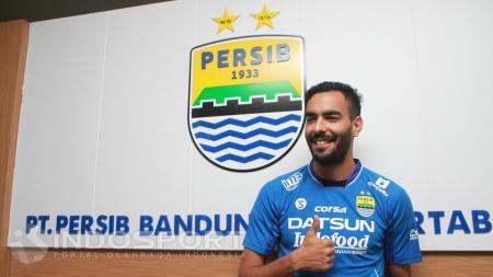 Eks pemain Persib Bandung Marcos Flores. - INDOSPORT