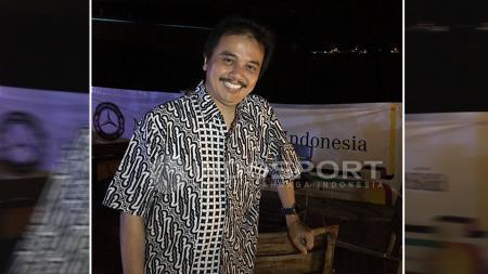 Roy Suryo menghadiri acara ulang tahun MB Club INA yang ke-12 pada Jumat (09/09/16). - INDOSPORT
