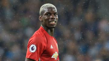 Gelandang tengah Manchester United, Paul Pogba.