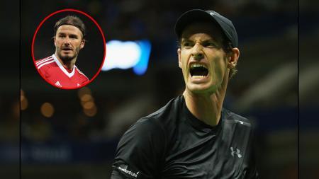 Andy Murray menjadikan David Beckham sebagai motivasinya. - INDOSPORT