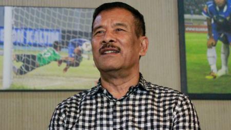 Manajer tim Persib Bandung, Umuh Muchtar. - INDOSPORT