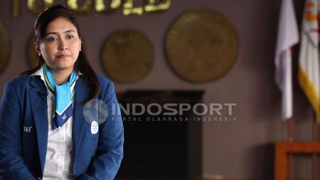 Wawancara eksklusif Rahadewineta bersama INDOSPORT. - INDOSPORT