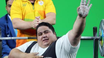 Siamand Rahman peraih medali emas Paralimpiade asal Iran.