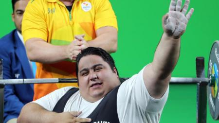 Siamand Rahman peraih medali emas Paralimpiade asal Iran. - INDOSPORT