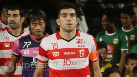 Fabiano Beltrame, bek andalan Madura United. - INDOSPORT