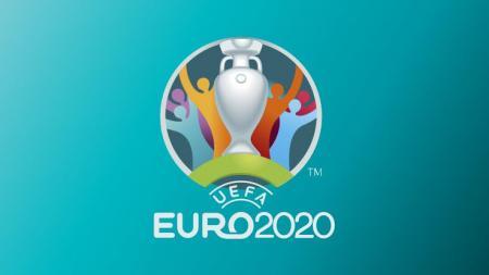 Logo Euro 2020. - INDOSPORT