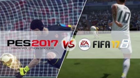 PES 2017 dan FIFA 2017 merupakan dua game sepakbola terbaik. - INDOSPORT