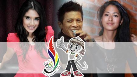 Beberapa artis Tanah Air yang pernah tampil di ajang PON. - INDOSPORT