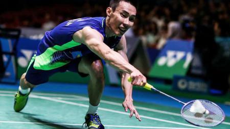 Lee Chong Wei, pebulutangkis asal Malaysia. - INDOSPORT