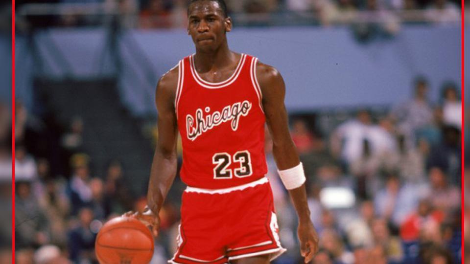Michael Jordan saat pertama kali bermain untuk Chicago Bulls di tahun 1984 Copyright: INTERNET