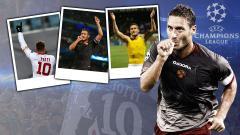 Indosport - Momen bersejarah Francesco Totti.