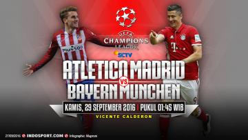 Atletico Madrid vs Bayern Munchen