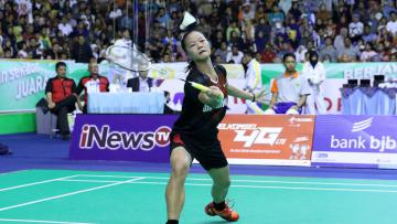 Fitriani harus tersisih di babak perempatfinal Malaysia Masters 2017.