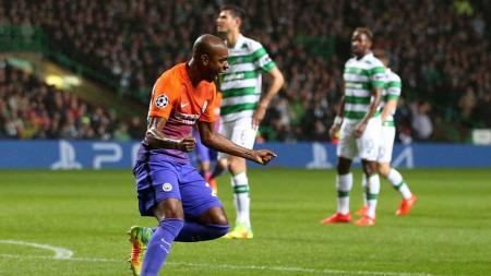 Celtic masih imbangi Man City di babak pertama. - INDOSPORT